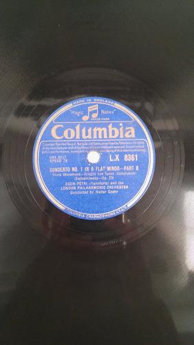 discos de pasta- tchaikovsky  piano concerto no.1
