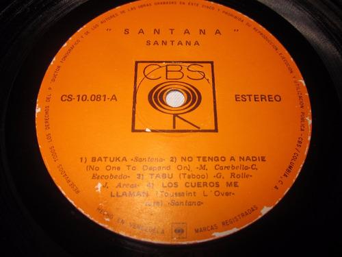 discos de vinilo, acetato, lp santana iii