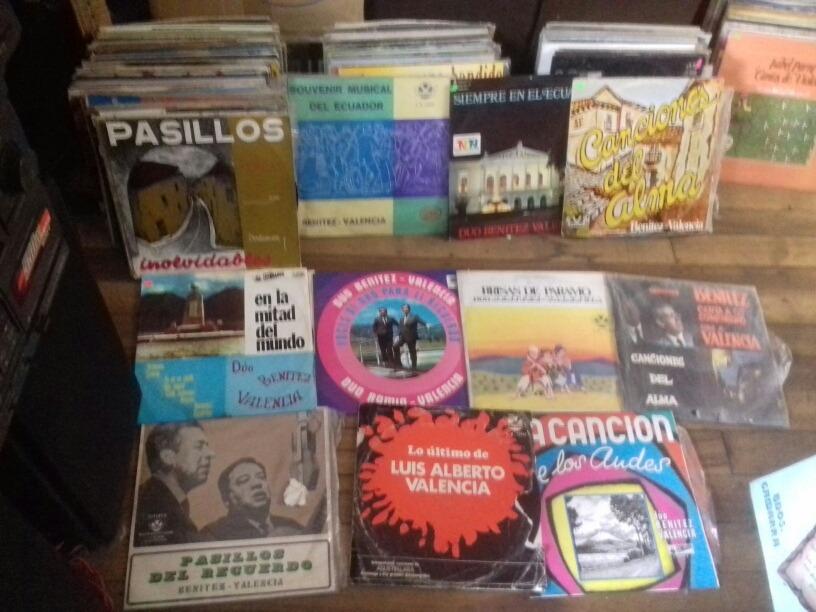 Discos De Vinilo Antiguos Del Duo Benites Y Valencia - U$S 15,00 en ...