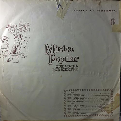 discos de vinilo - música popular
