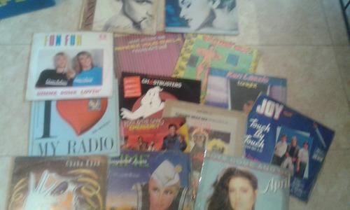 discos de vinilos changa music dj 80 & 90
