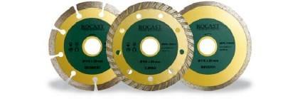 discos diamantados  rocast- valor por 10 unidades