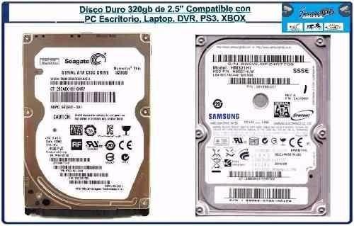discos duros 320gb para laptops y mini laptops