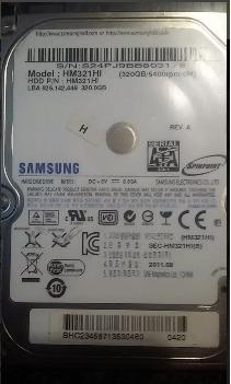 discos duros 320gb samsung, excelente calidad envio gratis