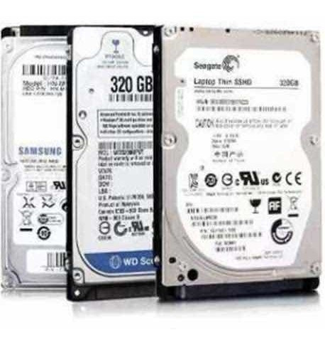 discos duros 320gb sata laptop 2.5 5400rpm7200rpm sellados
