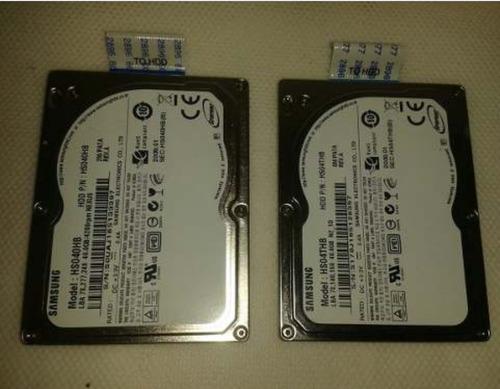 discos duros 40gb con conector flex samsung pregunté precio