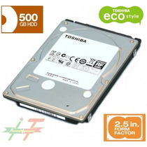 Disco Duro 500gb, 2.5, 5400rpm, Sata Interno Laptop Notebook