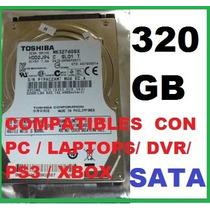 Disco Duro Sata 250 - 320 Gb Sata- De 2.5 *somos Tienda**