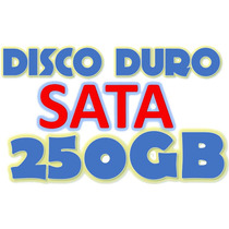 Disco Duro 250gb Sata 2.5 100% Compatibles Pc, Laptop, Dvr.