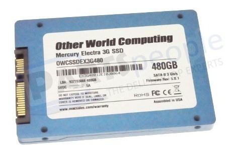 discos duros nuevos ssd 480gb 2.5 - owc
