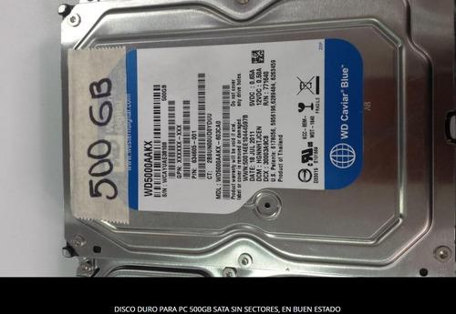 discos duros pc 500gb sata