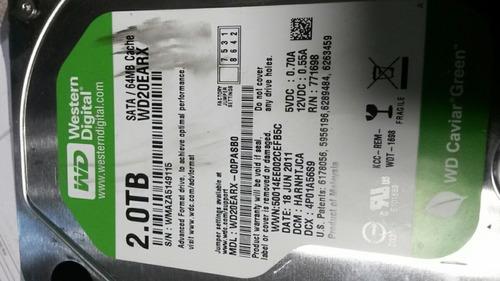 discos duros sata de 1tb y 2tb seagate y western digital
