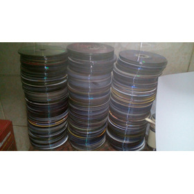Discos Dvds Y Cds Mal Grabados, Para Decoracion Pack X 50
