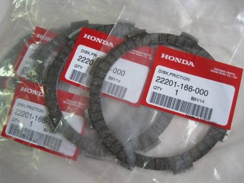 discos embrague original honda xr 125l xr 150l xr 125 xr 150