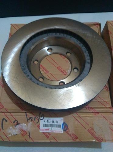 discos frenos delanteros fj cruiser 07 - 14 & 4runner 03 -09