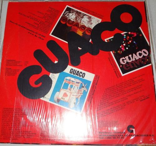 discos - guaco - pastelero - 4500bs