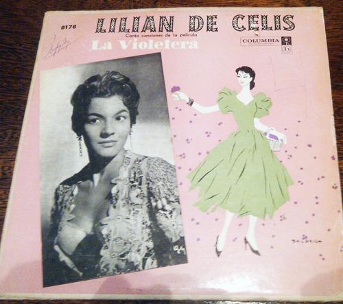 discos @ lilian de celis canta canciones peli *la violetera*