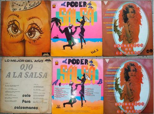discos lp -acetatos- salsa -salsa - salsa - lote 2