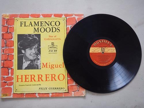 discos lp. flamenco moods. miguel herrero. 4ele