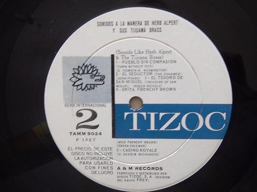 discos lp. herb alpert. tijuana brass 4ele