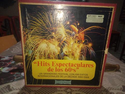 discos lp hits  espectaculares de los 60,s álbum