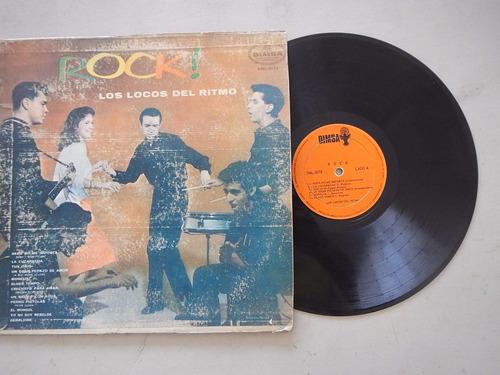discos lp. rock. los locos del ritmo. 4ele.