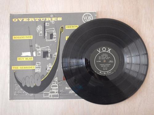 discos lp stereo vox pl 9590. overtures 4ele.