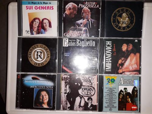 discos originales cantantes argentinos