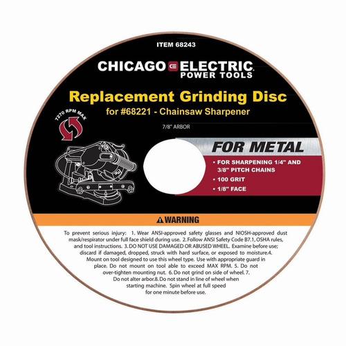 discos para afilador de cadenas 1 pza