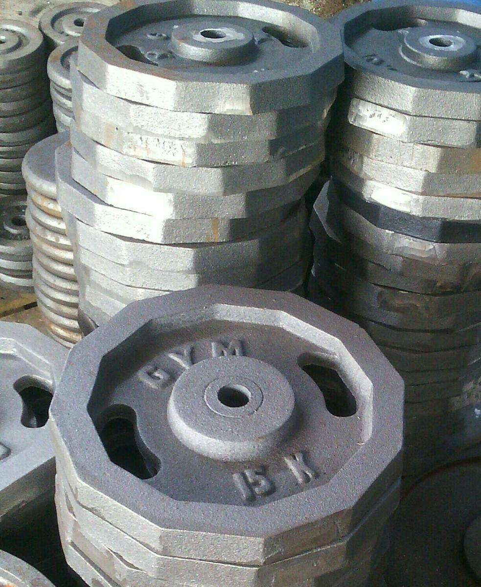 Discos para pesas y mancuernas en mercado libre for Pesas y mancuernas