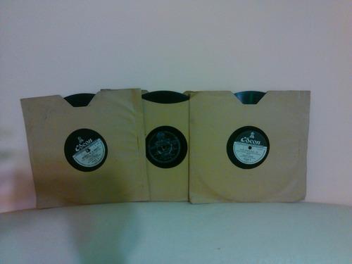discos pasta 78 rpm carlos gardel