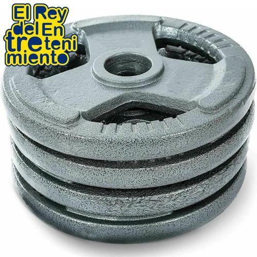 discos pesas hierro importados pintados los mejores! el rey