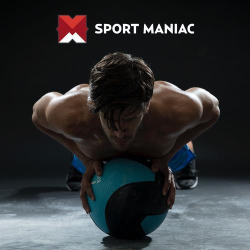 discos pesas sol recubiertos 1 kg gym sport maniac fitness