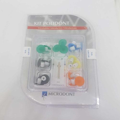 discos pulidores polidont kit x 28 + mandril microdont novac