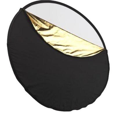 discos rebotadores reflectores de luz 5en1 43  110 cm