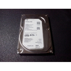 Hd Sata Pc Seagate Desktop Hd 500gb (st500dm002 - Fw: Cc43)
