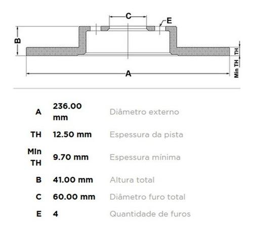 discos solido corsa 1.3 opel aleman delantero par gr frenos