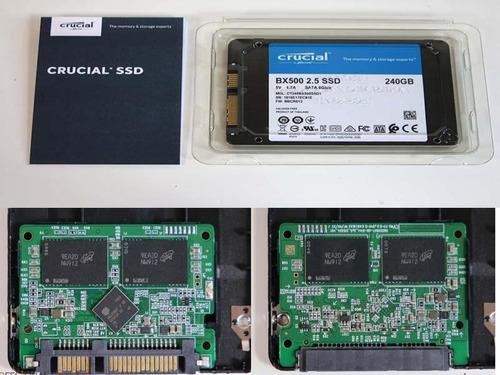 discos solidos bx500 240gb / 480gb