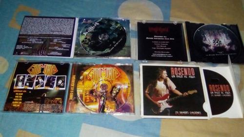 discos varios heavy, gothic, black y death metal