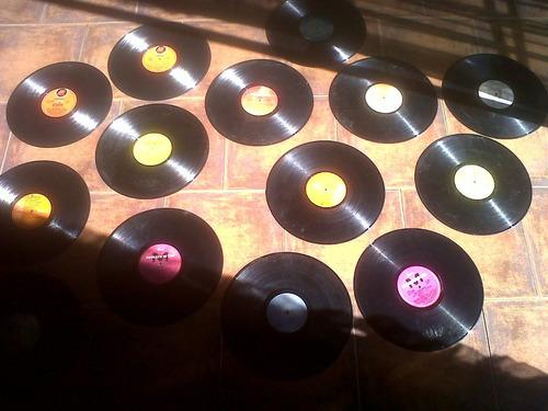 discos vinilos  para decoración distintos géneros