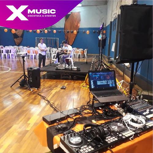 discoteca dj alquiler de equipos de audio proyeccion y luces
