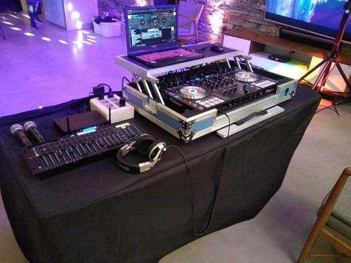 discoteca dj pantalla gigante karaoke cumpleaños de 15 años