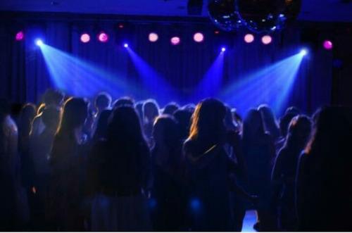 discoteca eventos audio luces efectos pantalla laser humo