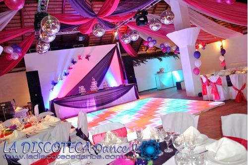 discoteca - pista led - cabina fotográfica -tu mejor opción!