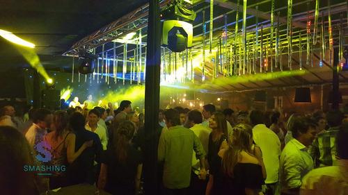 discoteca smashing- musicalización, audio e iluminación