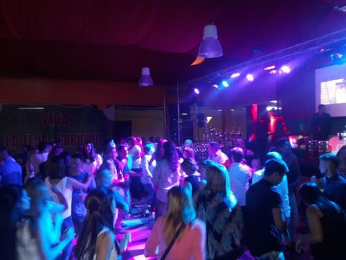 discoteca stark - audio luces efectos pantalla laser humo