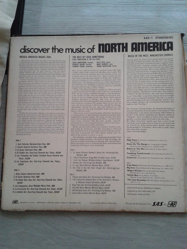 discover the music of north america - box com 3 lps