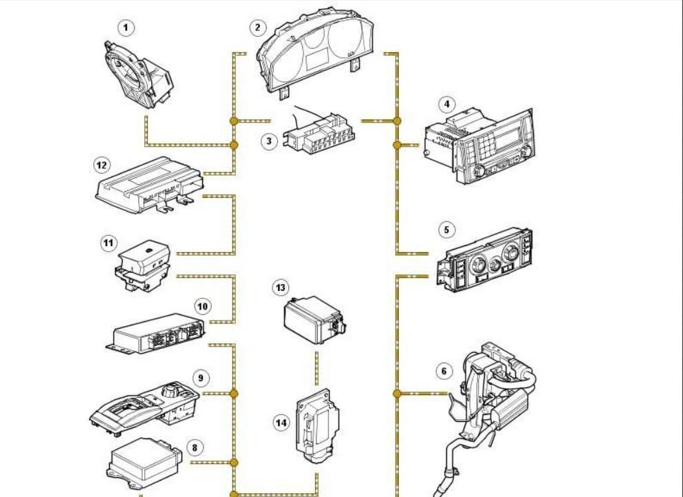 discovery 3 esquema eletrico  suspens u00e3o  motor