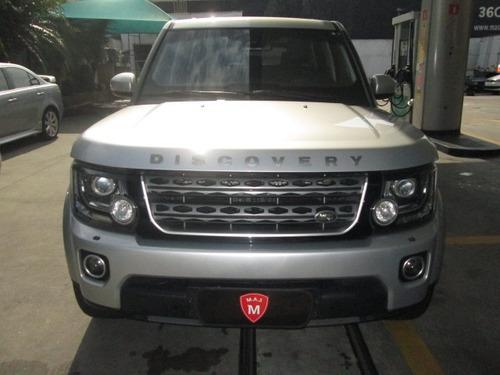 discovery 4 se 3.0 diesel blindagem hi tec 2015 único dono