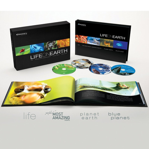 discovery channel life on earth colección blu-ray